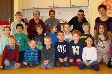 Kindergarten Arche hilft Flüchtlingen
