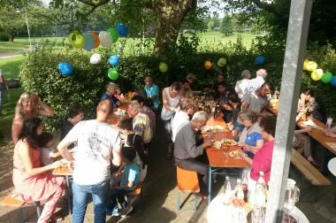 Sommerfest im Begegnungscafé