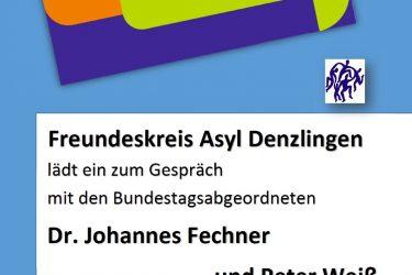 #FreundeskreisImDialog –          mit Fechner & Weiss